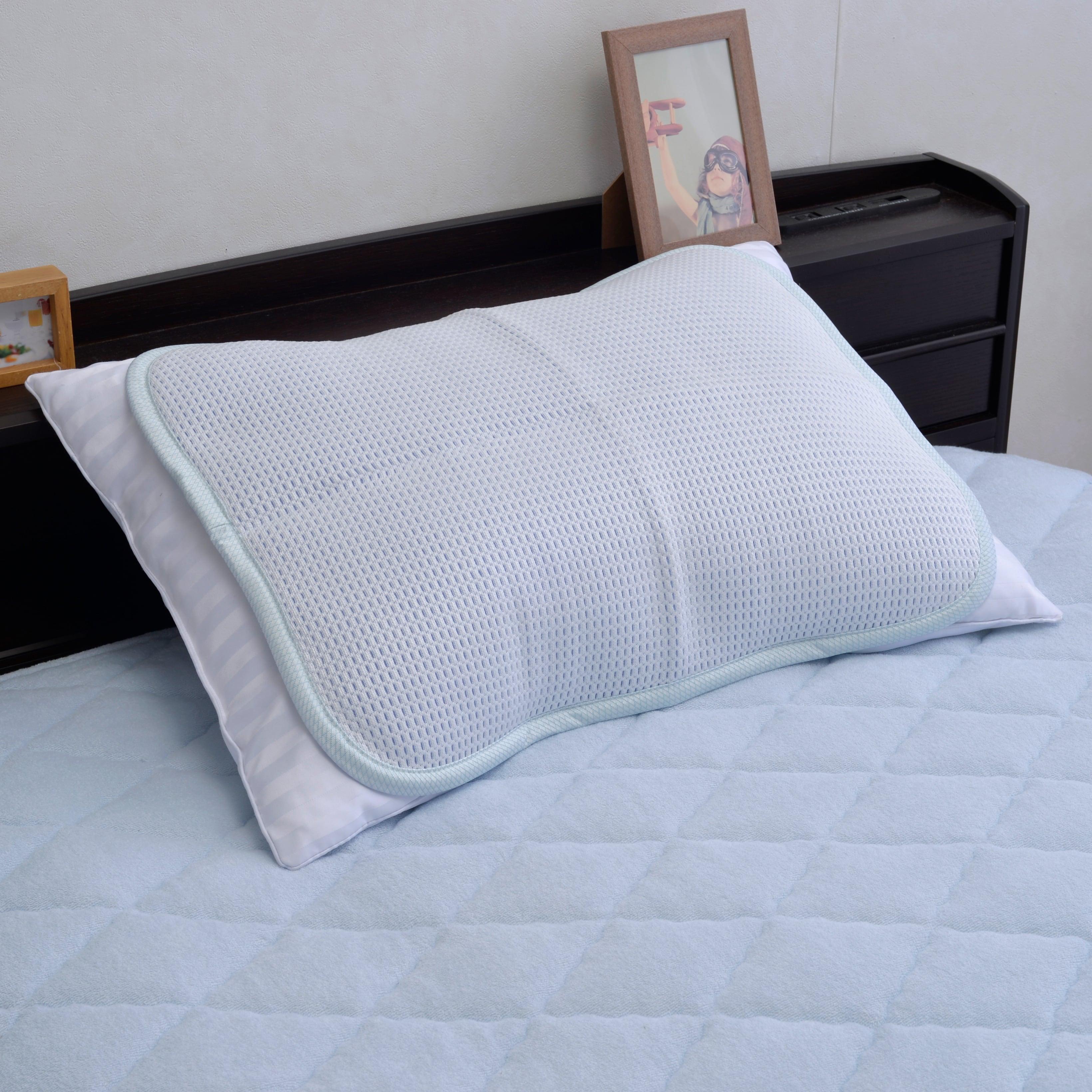 接触冷感 ひんやり枕パッド